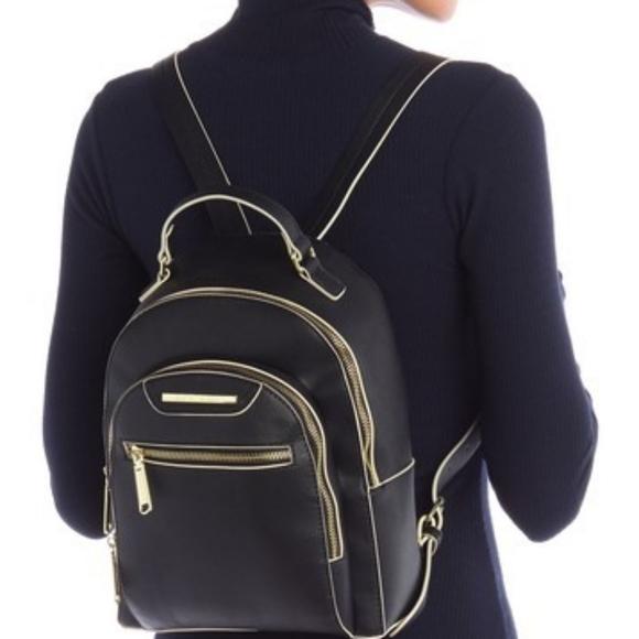 NWT! Steve Madden black bakima backpack